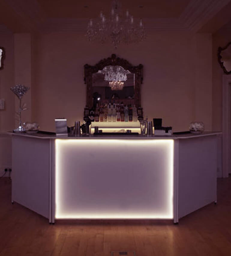 elegant bar home
